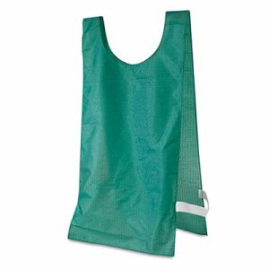 Champion Sports Heavyweight Pinnies, Nylon, One Size, Green, 1 Dozen (CSINP1GN)