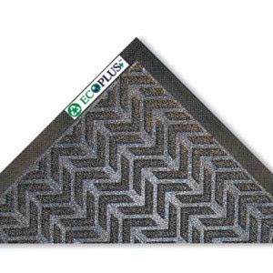 Crown EcoPlus Mat, 4 x 6, Indoor, Charcoal, 1 Each (CWNECR046CH)