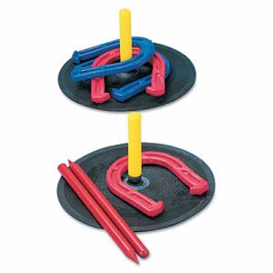 Champion Sports Indoor/Outdoor Rubber Horseshoe Set (CSIIHS1)