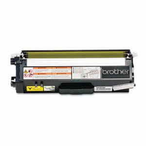 Brother TN310Y (TN-310Y) Toner, 1,500 Page-Yield, Yellow (BRTTN310Y)