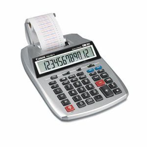 Canon 12-Digit 2-Color Printing Calculator, Purple/Red (CNMP23DHV)