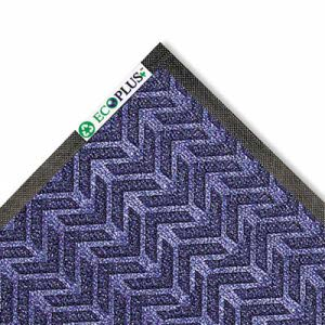 Crown EcoPlus Mat, 3 x 10, Indoor, Midnight Blue, 1 Each (CWNECR310MB)
