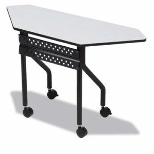 Iceberg OfficeWorks Mobile Training Table, 48w x 18d x 29h, Gray (ICE68077)
