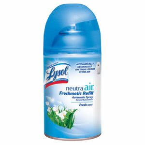 Lysol Neutra Air Freshmatic Refills, Fresh Scent, 6 Cans (RAC79831CT)