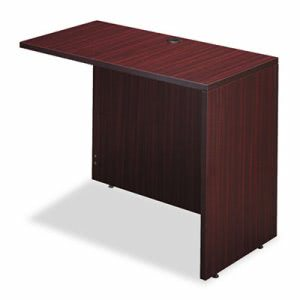Alera Valencia Series Reversible Return/Bridge Shell, 42w x 23-5/8d. Mahogany (ALEVA354224MY)