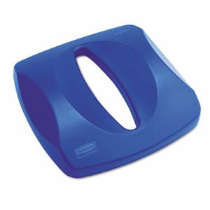 Rubbermaid 2690 Untouchable Paper Recycling Lid, Blue (RCP 2690 BLU)
