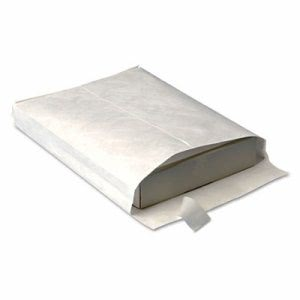 Survivor Expansion Mailer, 10 x 13 x 1 1/2, White, 100 per Carton (QUAR4200)