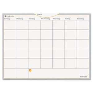 At-A-Glance WallMates Self-Adhesive Monthly Planning Whiteboard (AAGAW502028)