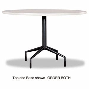 "Safco Series Standard Fixed Height Table Base, 28"" dia. x 28h, Black (SAF2656BL)"