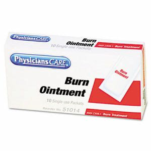 Physicianscare Burn Cream Packets, Box of 10 (FAO13006)