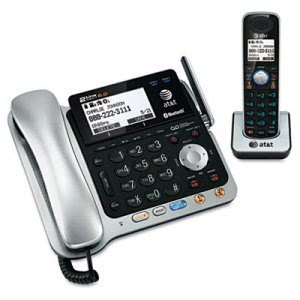 At&t TL86109 Two-Line DECT 6.0 Phone System with Bluetooth (ATTTL86109)
