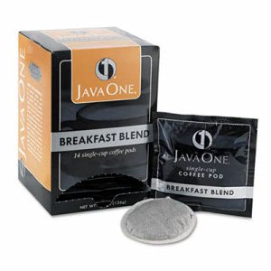 Java One Coffee Pods, Breakfast Blend, Single Cup, 14/Box (JAV30220)