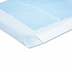 Medline Disposable Drape Sheets, 40 x 60, White, 100/Carton (MIINON24339A)