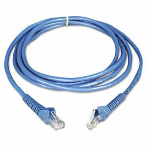 Tripp Lite CAT6 Snagless Patch Cable, 14 ft, Blue (TRPN201014BL)