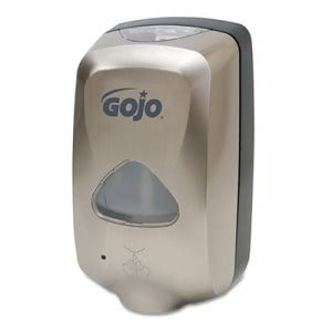 Gojo TFX Touch-Free Foam Hand Soap Dispenser, Nickel (GOJ 2789-12)