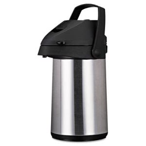 Coffee Insulated Airpot with Carry Handle, 2.2 L, Stainless Steel (OGFCPAP22)