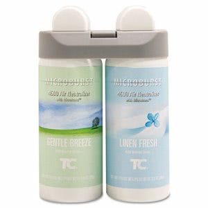 Microburst Duet Gentle Breeze/Linen Fresh Air Freshener Refill (TEC 3485949)