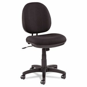 Alera Swivel/Tilt Task Chair, 100% Acrylic, Black (ALEIN4811)