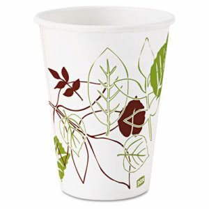 Dixie Pathways Paper Hot Cups, 12 oz, 25 per Pack (DXE2342WSPK)
