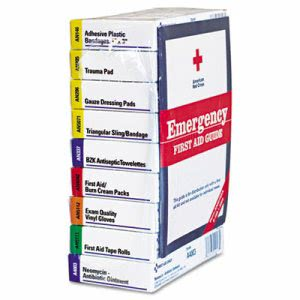 First Aid Only ANSI Compliant First Aid Kit Refill for 10 Unit First Aid Kits (FAO740010)