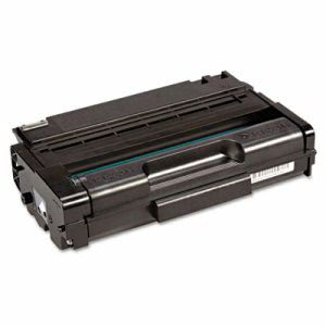 Ricoh 406464 Toner, 2,500 Page-Yield, Black, 1 Each (RIC406464)