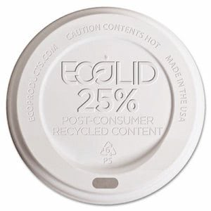 Eco-Products Hot Cup Lids, 1000 Lids (ECP EP-HL16-WR)