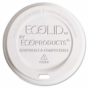 Eco-products Hot Cup Lid, 10-20 oz, Translucent, 800/Carton (ECOEPECOLIDW)