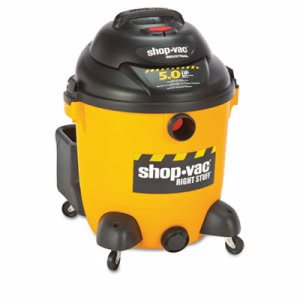 Shop-Vac Economical Wet/Dry Vacuum, 12 Gallon, Black/Yellow (SHP 9625110)