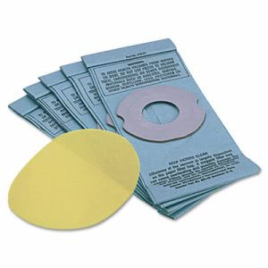 Shop-vac Hippo Disposable Filter Bags, Five/Pack (SHO9014600)