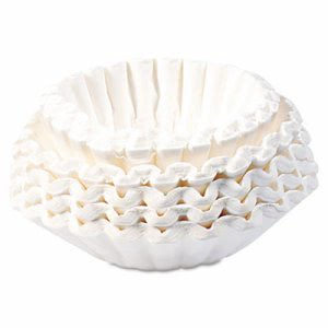 Bunn Flat Bottom Coffee Filters, 12-Cup Size, 250 Filters/Pack (BUNBCF250)