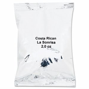 Costa Rican Coffee Portion Packs, 2 oz Packets, 40 Packets (JAV39930404021)