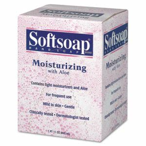 Softsoap Moisturizing Hand Soap with Aloe 800-ml Refill, 12 Refills (CPC 01924)