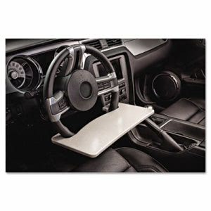 Autoexec Automobile Steering Wheel Attachable Work Surface, Gray (AUE13000)