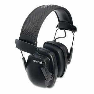 Howard Leight By Honeywell Sync Stereo Earmuff, 25 dB NRR (UVX1030110)