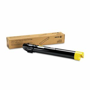 Xerox 106R01438 High-Yield Toner, 17800 Page-Yield, Yellow (XER106R01438)