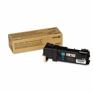 Xerox 106R01591 Toner Cartridge, 1,000 Page-Yield, Cyan (XER106R01591)