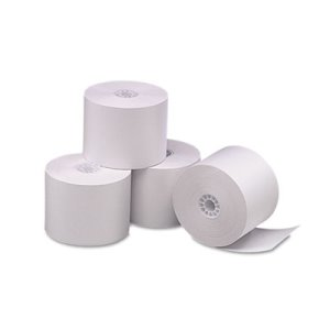 Iconex Direct Printing Thermal Paper Rolls, White, 6 Rolls (ICX90781276)