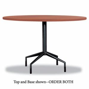"Safco RSVP Series Round Table Top, Laminate, 42"" Diameter, Cherry (SAF2654CY)"