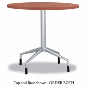 "Safco RSVP Series Round Table Top, Laminate, 30"" Diameter, Cherry (SAF2651CY)"
