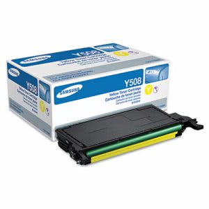 Samsung CLTY508S Toner, 2,000 Page-Yield, Yellow (SASCLTY508S)