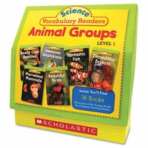 Science Vocabulary Readers: Animal Groups, with Teaching Guide (SHS0545149207)