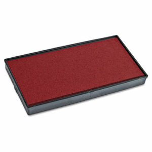 2000 Plus Replacement Ink Pad for P40 & Dual Pad Printer P40, Red (COS065473)