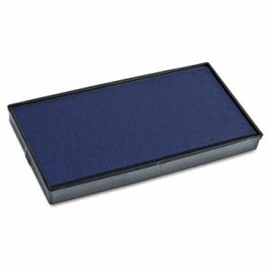 2000 Plus 2000 PLUS Replacement Ink Pad for Printer P40 & Dual Pad Printer P40, Blue (COS065472)