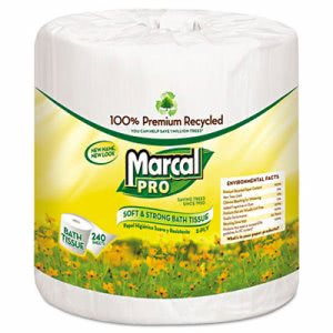 Marcal Sunrise 2-Ply Standard Toilet Paper, 48 Rolls (MAC 3001)