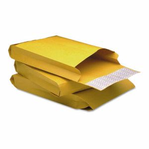 Quality Park Expansion Envelope, Side Seam,  Brown, 25 per Pack (QUA93334)