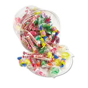 Office Snax All Tyme Favorite Assorted Candies and Gum, 2lb Tub (OFX00002)