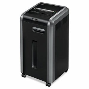 Fellowes Continuous-Duty Cross-Cut Shredder, 20 Sheet Capacity (FEL3825001)