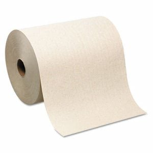 SofPull 1000 ft Brown Hardwound Roll Towels, 6 Rolls (GPC 264-80)
