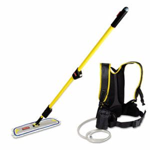 Rubbermaid Q979 Flow Flat Mop Finishing System Rcp Q979