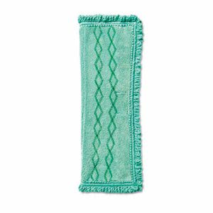 Rubbermaid 1791793 Hygen Microfiber Dust Mop Pad, Green (RCP1791793)